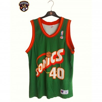 "Seattle Sonics NBA Jersey #40 Shawn Kemp (XL) ""Good"""