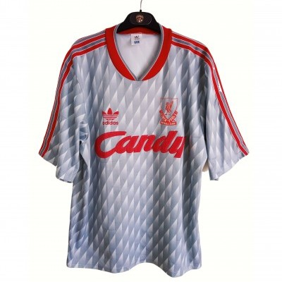 "Liverpool FC Away Shirt 1989-1991 (L) ""Average"""