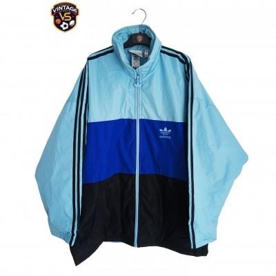 "Vintage Adidas Puffer Padded Jacket Blue (L) ""Very Good"""