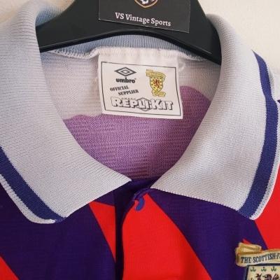 "Scotland Away Shirt 1991-1993 (M) ""Very Good"""