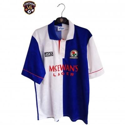 """Blackburn Rovers Home Shirt 1992-1994 (M) """"Very Good"""""""