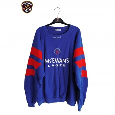 "Glasgow Rangers FC Sweatshirt 1992-1994 (M) ""Good"""