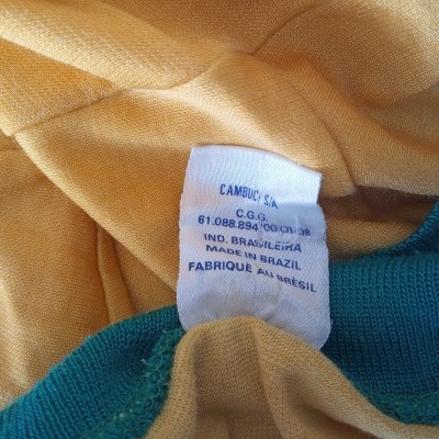 "Vintage Brazil Home Shirt 1980's (10) ""Good"""
