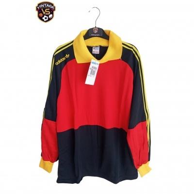 NEW Vintage Goalkeeper Shirt Adidas Brasilia 1980s (L)