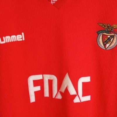 """SL Benfica Home Shirt 1991-1992 (XL) """"Very Good"""""""