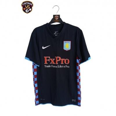 "Aston Villa FC Away Shirt 201-2011 (S) ""Perfect"""