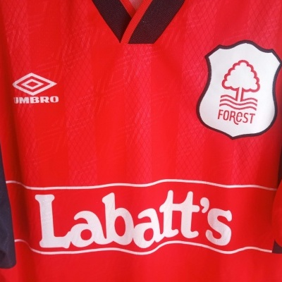 "Nottingham Forest Home Shirt 1994-1996 (L) ""Very Good"""