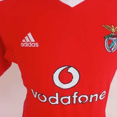 NEW SL Benfica Home Shirt 2002-2003 #21 Nuno Gomes (S)