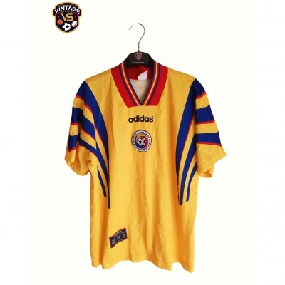 "Romania Home Shirt 1996-1998 (M) ""Very Good"""
