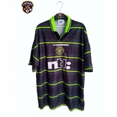 "Celtic Glasgow FC Away Shirt 1999-2000 (XL) ""Very Good"""