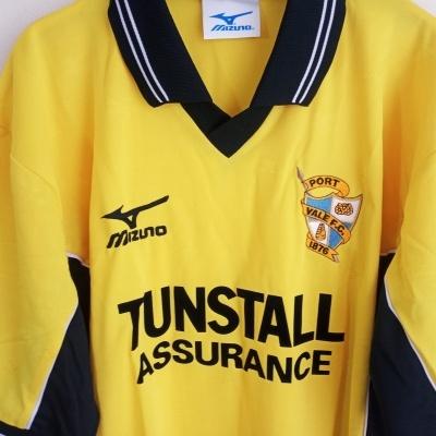 NEW Port Vale FC Away Shirt 2000-2001 (L)