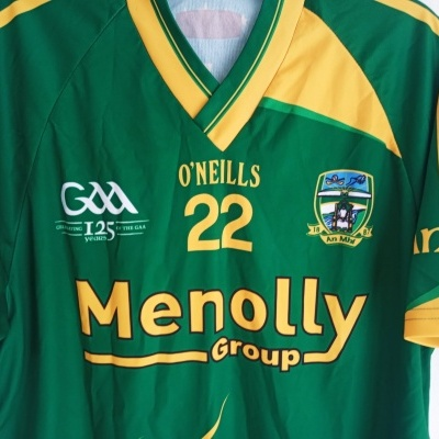 "Matchworn Meath GAA Gaelic Shirt Jersey 2009 #22 (L) ""Very Good"""