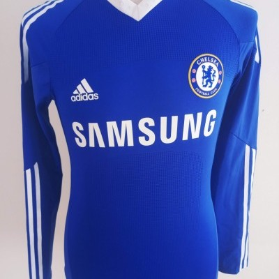 """Issue Chelsea FC Home Long Sleeve Shirt 2010 #11 (L) """"Very Good"""""""