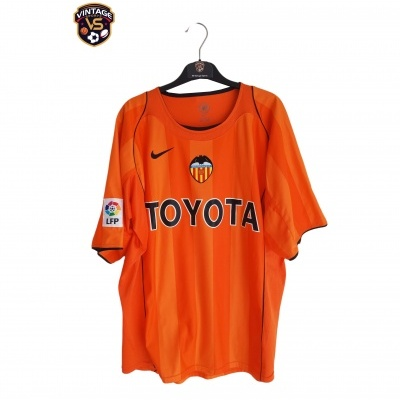 "Retro Valencia CF Away Shirt 2004-2005 (XL) ""Perfect"""