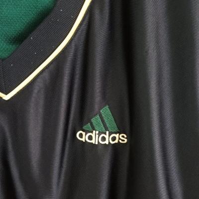"Vintage Adidas Jersey Green Black Gold (M) ""Good"""