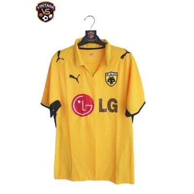 "AEK Athens Home Shirt 2008-2009 (S) ""Very Good"""