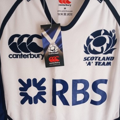 NEW Scotland A Team Rugby Test Away Shirt 2011 (M)