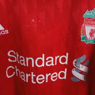 "Liverpool FC Home Shirt 2010-2012 #9 Torres (L) ""Average"""