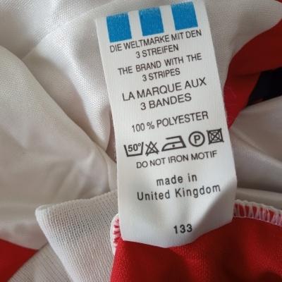 "Arsenal FC Home Shirt 1992-1994 (XL) ""Good"""