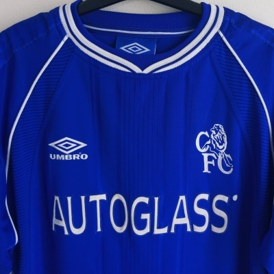 "Chelsea FC Home Shirt 1999-2000 (M) ""Very Good"""