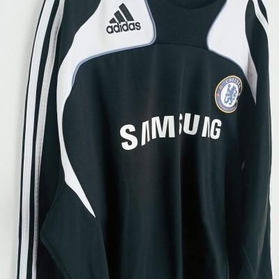 "Chelsea FC Sweatshirt Training Top 2007-2008 (XXL) ""Good"""