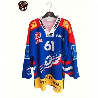 "Signed Kloten Flyers Ice Hockey Jersey #61 Bärtschi (M) ""Good"""