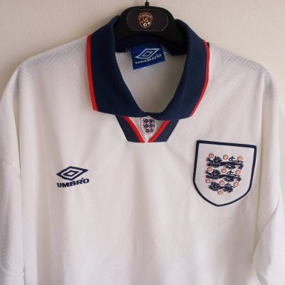 "England Home Shirt 1993-1995 (L) ""Very Good"""