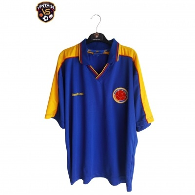 "Colombia Away Shirt 1998-2001 (XL) ""Very Good"""