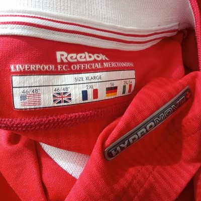 "Liverpool FC Home Shirt 2002-2004 (XL) ""Very Good"""