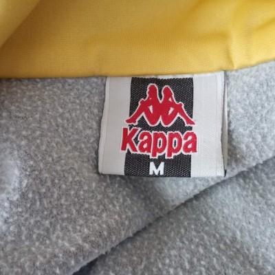 """Vintage Track Top Jacket Kappa Black Grey (M) """"Very Good"""""""