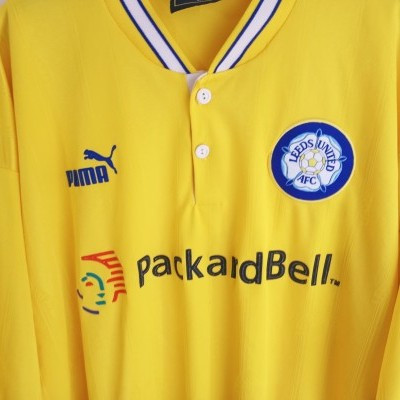 "Leeds United FC Away Shirt 1996-1998 (XL) ""Good"""