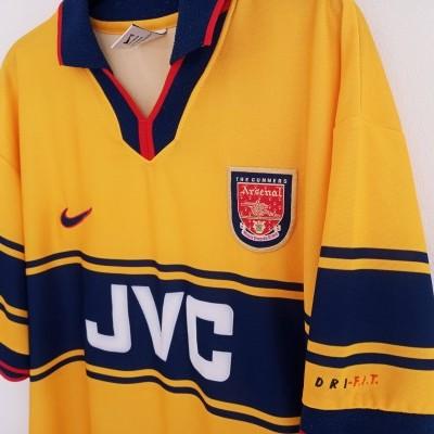 "Arsenal FC Away Shirt 1997-1999 (L) ""Very Good"""