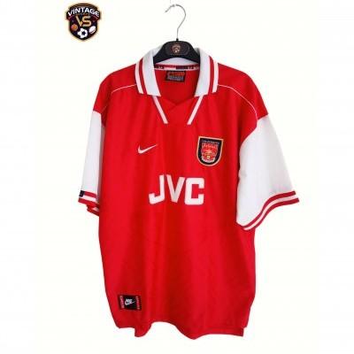 "Arsenal FC Home Shirt 1996-1998 (XL) ""Very Good"""
