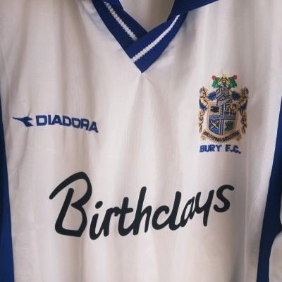 "Bury FC Home Shirt 1999-2001 (XL) ""Good"""