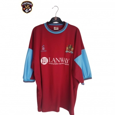 "Burnley FC Home Shirt 2001-2002 (XXL) ""Perfect"""