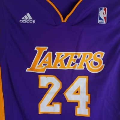 "LA Los Angeles Lakers NBA Jersey #24 Bryant (M Youths) ""Good"""