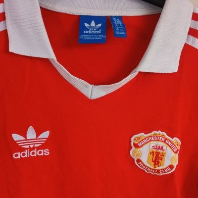 "Retro Manchester United Home Shirt 1980-1982 (XS) ""Very Good"""