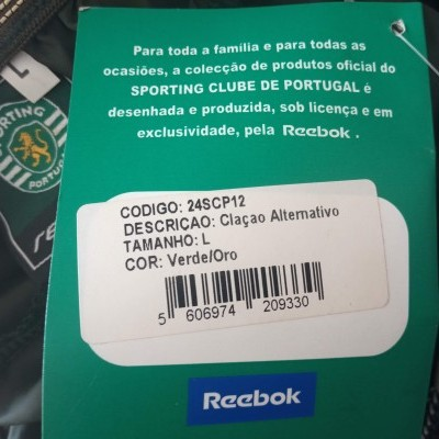 NEW Sporting CP Football Away Shorts 2003-2004 (L)