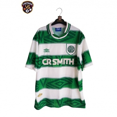 "Celtic FC Home Shirt 1993-1995 (XL) ""Very Good"""