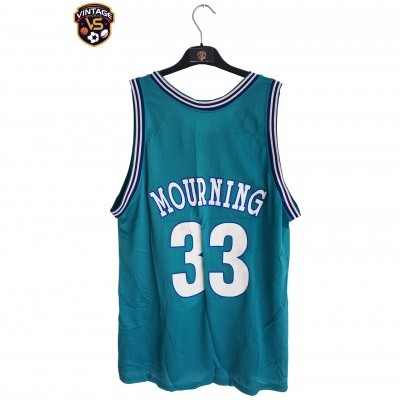 "Charlotte Hornets NBA Jersey #33 Mourning (48) ""Very Good"""