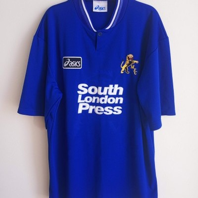 "Millwall FC Home Shirt 1996-1997 (L) ""Perfect"""