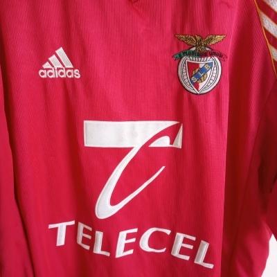 """SL Benfica Home Shirt 1998-1999 (XL) """"Good"""""""