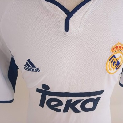 """Real Madrid Home Shirt 2000-2001 (L) """"Good Condition"""""""