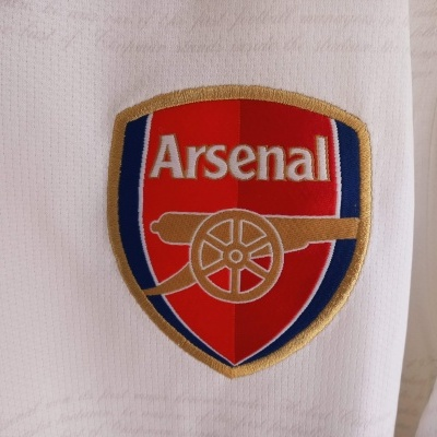 """Arsenal FC Away Shirt L/S Player Issue 2007-2008 (L) """"Perfect"""""""