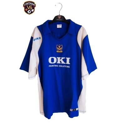"Portsmouth FC Home Shirt 2006-2007 (XL) ""Very Good"""