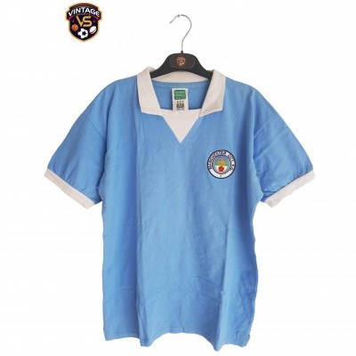 "Retro Manchester City Home Shirt 1976 (M) ""Very Good"""