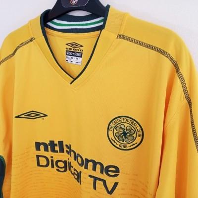 "Celtic Glasgow FC Away Shirt 2002-2003 (XL) ""Very Good"""