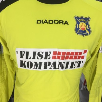 Matchworn ROA IL Goalkeeper Shirt (L) #1 Norway