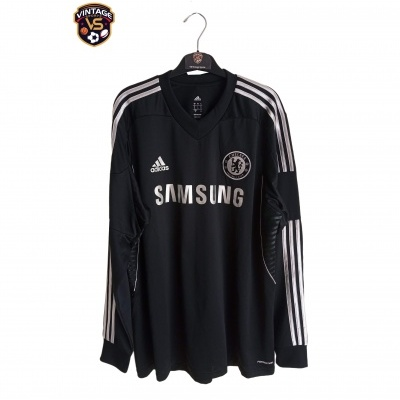 "Chelsea FC Player Issue Third Shirt L/S 2013-2014 (11) ""Perfect"""