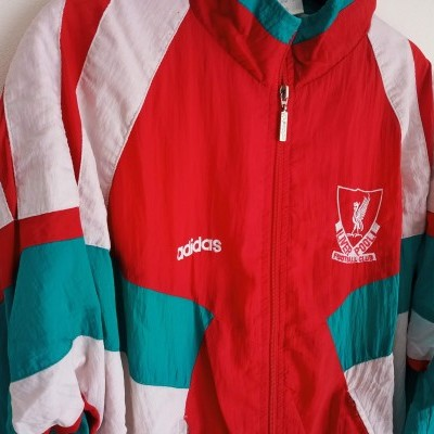 """Liverpool FC Track Top Jacket 1991-1992 (S) """"Very Good"""""""